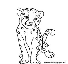 baby jungle animals coloring pages | free printable coloring pages ... - Baby Jungle Animal Coloring Pages
