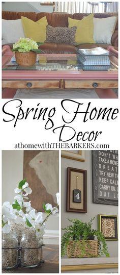 Spring Home Decor and Blogger Tour