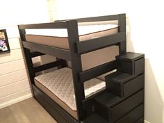 Custom Bunk Beds, Bedrooms, Country, Table, Furniture, Home Decor, Decoration Home, Rural Area, Room Decor