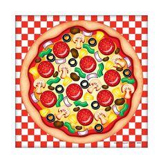 Make-A-Pizza Sticker Scenes - OrientalTrading.com