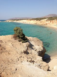 One of Naxos' most secluded beaches, Aliko Beach - Greece