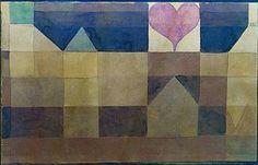 Paul Klee: Erinnerung an ein Abenteuer Novembernachts. 1922,