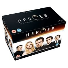 Heroes season one to four, loved this tv series