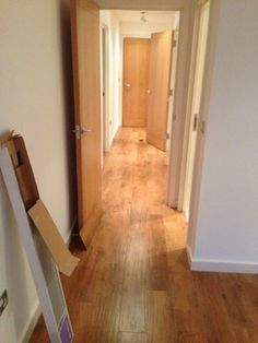 Client: Private Residence In North London. Brief: To uplift rubber flooring & supply and install Amtico flooring in wood design. Amtico Flooring, Rubber Flooring, North London, Wood Design, Clinic, Floors, Furniture, Ideas, Home Decor