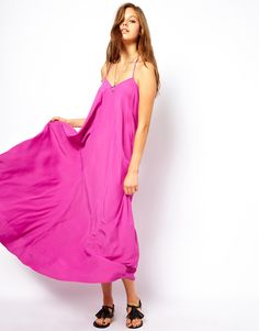 Summer Swing Cami Maxi Dress
