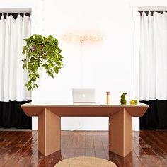 Muebles de cartón #design #sostenible