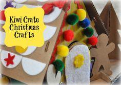 Kiwi Crate's Fun Christmas Craft Crate