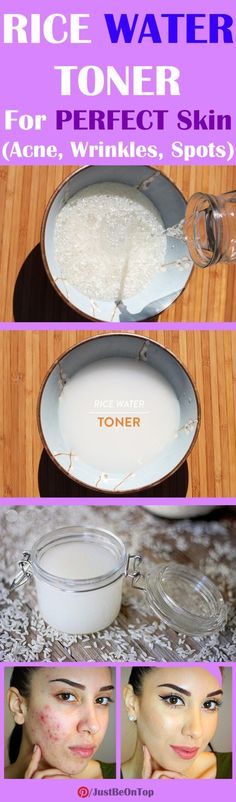 RICE WATER TONER | Just Be On Top