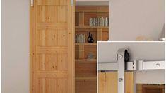 Sliding door fittings: common useful features of wooden sliding door