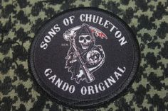 Sons of Chuleton patch www.parchespersonalizados.com