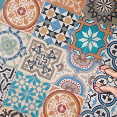 Hola from Cabo! Stunning tiles!  #tiledesign #design #patterns #cabosanlucas by calibludesign