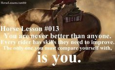 Discover and share Cowgirl And Horse Quotes. Explore our collection of motivational and famous quotes by authors you know and love. Rodeo Quotes, Cowboy Quotes, Cowgirl Quote, Equestrian Quotes, Cowgirl And Horse, Horse Love, Quotes Quotes, Horse Sayings, Equestrian Problems