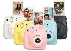 want one of these! mini polaroid camera's!  http://www.fujifilm.ca/products/instax/instax_mini8/#features