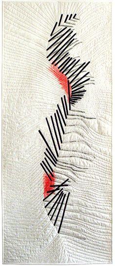 Illusion VI art quilt by Liz Heywood. Contemporary Quilt Art (UK)