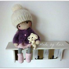 #amigurumi #amigurumidoll #crochet #crochetdoll #madebyrusi #rusidolls