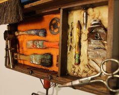 Junk Drawer Series 5 - Kathy Moore Assemblage Artist