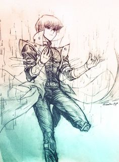 [Sketch] Seto Kaiba in DSOD by Ycajal on DeviantArt