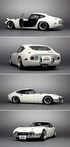 1968 Toyota 2000GT - an absolute Japanese classic car, really hard to find today. The design is timeless and still looks great even by today's design standards.