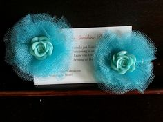 Hair flowers bows or blooms