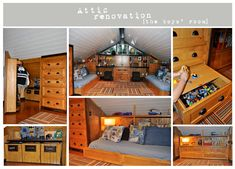 Attic remodeling can give you an extra bedroom, office, playroom or living space, if you have the roof space for attic renovations.
