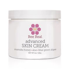 Bee Real Advanced Skin Cream is the BEST natural solution to assist in handling skin conditions such as stretch marks, dry sensitive skin, eczema, rashes and more! by Bee Real -- Awesome products selected by Anna Churchill Aloe Vera For Skin, Organic Aloe Vera, Baby Skin Care, Skin Care Tips, Dry Skin Causes, Dry Skin On Feet, Anti Itch Cream, Dry Sensitive Skin, Skin Cream