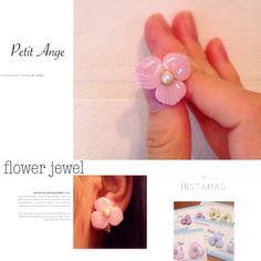 *Flower jewel collection*フラワージュエルコレクションです。耐水性のある樹脂粘土を使用して、一つ一つハンドメイドで花びらを形成していま...|ハンドメイド、手作り、手仕事品の通販・販売・購入ならCreema。