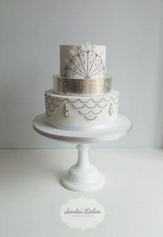 Dress inspired cake