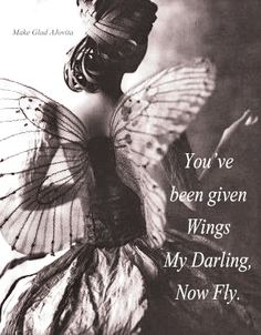 Look to a Bright Future...Spread Your Wings and Fly ~ created by Jovita