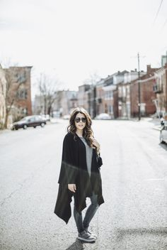 TRAVEL STYLE | The Collaboration Blog | Black Blanket Scarf | Inspyre Boutique | Sunglasses | Rayban Watch| Michael Kors | Shoes | Toms | Denim Jeans