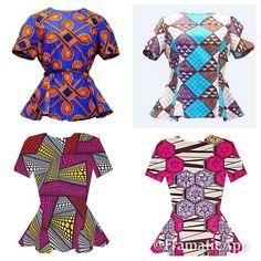 African Print M A R I E Shirt. ~African fashion, Ankara, kitenge, African women dresses, African prints, African men's fashion, Nigerian style, Ghanaian fashion ~DKK