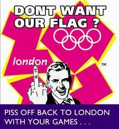 Don't want our flag?