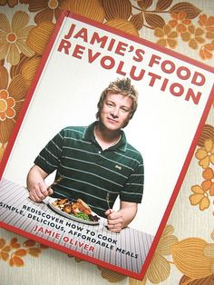 a christmas present ... my first jamie oliver cookbook and it's fantastic.