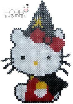 Halloween – Hallo Kitty af Hama perler   HAMA perler