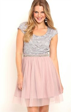 Homecoming dress! The gray is darker in person.