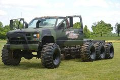 To bad its not a dodge. Jacked Up Trucks, Lifted Cars, Classic Chevy Trucks, Gm Trucks, Diesel Trucks, Cool Trucks, Pickup Trucks, Diesel Punk, Chevy Silverado
