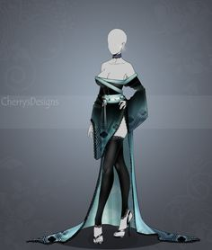 (closed) Auction Adopt - Outfit 436 by CherrysDesigns