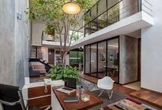 architecture modern office Balancing Comfort and Formality: Modern Matatena Offices in Mexico