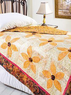 Autumn Blossoms Quilt Pattern