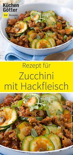 Ein leichtes Gericht, das uns auf wärmere Temperaturen einstimmt: Zucchini, Tomaten und Hackfleisch werden in einem Topf gegart, dazu wird ein frisches Fladenbrot gereicht. Guten Appetit!