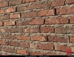 PBR Sloppy Brick Wall 02 Material Study, Joshua Lynch on ArtStation at https://www.artstation.com/artwork/JOwdz