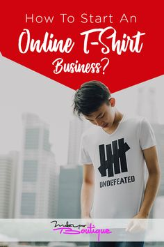 Having an online t-shirt business has a lot of opportunities, so here's our guide on what you need to know to start your own t-shirt business from the comforts of your home.    #t-shirt #business #start Starting An Online Boutique, Selling Online, E Commerce Business, Online Business, Sell Your Stuff, Things To Sell, T Shirt Factory, T Shirt Printer, Inspirations Magazine
