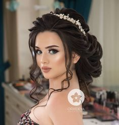 Quinceanera Hairstyles Elegant Wedding Hairstyles – Famous Last Words Long Hair Wedding Styles, Elegant Wedding Hair, Wedding Hair Down, Bridal Hairdo, Bride Makeup, Wedding Hair And Makeup, Quince Hairstyles, Bride Hairstyles, Down Hairstyles