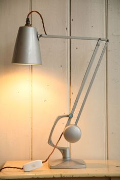 'Simplus' Task Lamp by Hadrill & Horstmann, Table Lamp Design, Lamp, Piano Lamps, Desk Light, Beautiful Lamp, Desk Lamp, Interior Lighting, Task Lamp Bedroom, Vintage Lamps