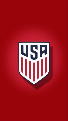 USA Soccer Background New logo 2016 wallpaper iPhone Soccer Pro, Us Soccer, Soccer Shirts, Soccer Stuff, Usa Wallpaper, Iphone Wallpaper, Scenery Wallpaper, Soccer Backgrounds, American Logo