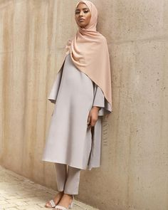 Islamic Fashion, Muslim Fashion, Modest Fashion, Fashion Outfits, Casual Hijab Outfit, Hijab Dress, Hijab Style, Hijab Chic, Hijab Fashionista
