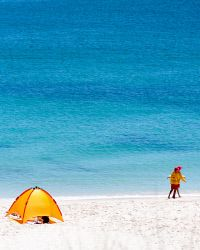 Stock photography Perth WA. Summer day on Cottesloe Beach, Perth. Search IMB-0006133 © WestPix