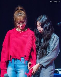 Twice-Mina & Chaeyoung 181124 Nayeon, Kpop Girl Groups, Korean Girl Groups, Kpop Girls, K Pop, Otp, My Girl, Cool Girl, Jackson