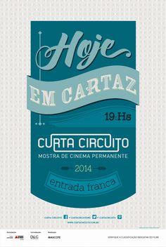 Poster Mostra Curta Circuito 2014 Designer: Naraiana Peret
