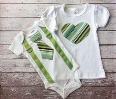 This set includes t-shirt for big sister and tie onesie with suspenders for little brother, both in short sleeves. Onesie Sizes (Carters brand): Newborn (NB) Up to in 5 – 8 lb - 24 in 8 - lb 24 – in – lb – in – lb – in – Tie Onesie, Onesies, Baby Boy Fashion, Child Fashion, Sibling Shirts, Baby Boy 1st Birthday, Baby Girl Crochet, One Piece Bodysuit, Baby Sister