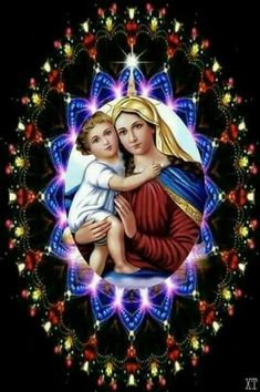 Jesus Christ Images, Jesus Art, Blessed Mother Mary, Blessed Virgin Mary, St Therese Prayer, Fatima Prayer, Good Morning Friends Images, Christ Tattoo, Jesus Photo